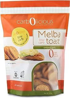 Low Carb Melba Toast (ONION & GARLIC) 4 oz.