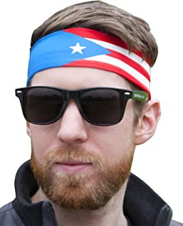 International Tie Unisex Sports Headband