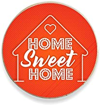 Yaya Cafe™ Gift Home Sweet Home Printed Fridge Magnet - Round