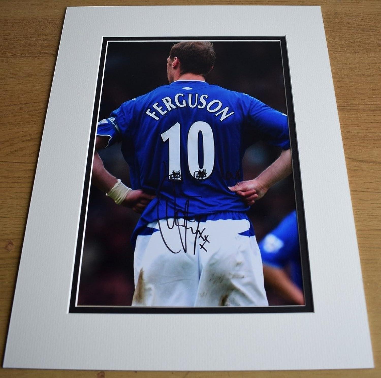 Sportagraphs Duncan Ferguson SIGNED autograph 16x12 LARGE photo display Egreenon AFTAL COA PERFECT GIFT