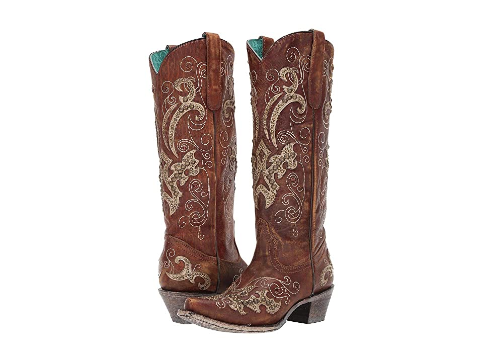 Corral Boots A3638 (Brown) Cowboy Boots
