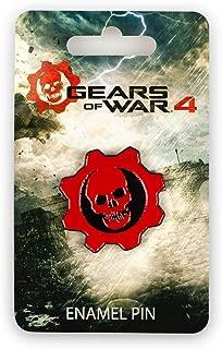 Gears of War 4 Crimson Omen Pin | Gears Of War Metal Enamel Logo Pin | Official Video Game Collectible