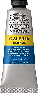 Winsor & Newton, Cobalt Blue Hue Galeria Acrylic Paint, 60ml Tube, 60-ml