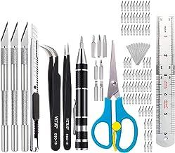 Sharplace Exacto messen upgrade precisiesnijwerk mes hobby-mes Exacto mes kit Exacto mes vervanging voor kunst, hobby, 105...