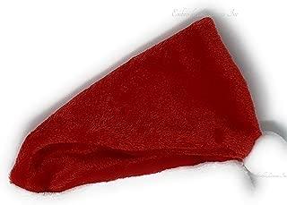 Baby Santa Hat Plush Premium Classic Red And White