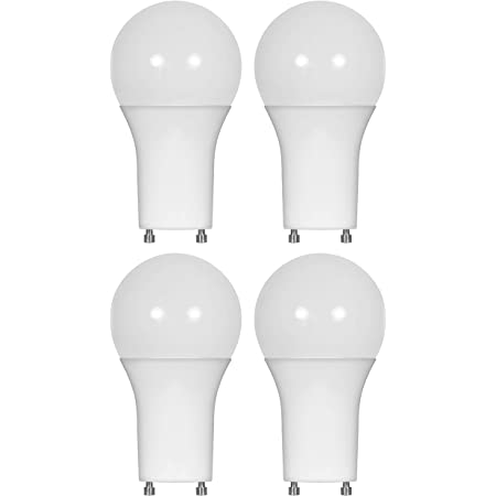 Led Gu24 A19 Light Bulbs 60 Watt Equivalent 9 5 Watt Dimmable Lights For Home With Twist