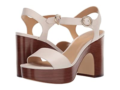 MICHAEL Michael Kors Fiona Platform (Light Cream) Women