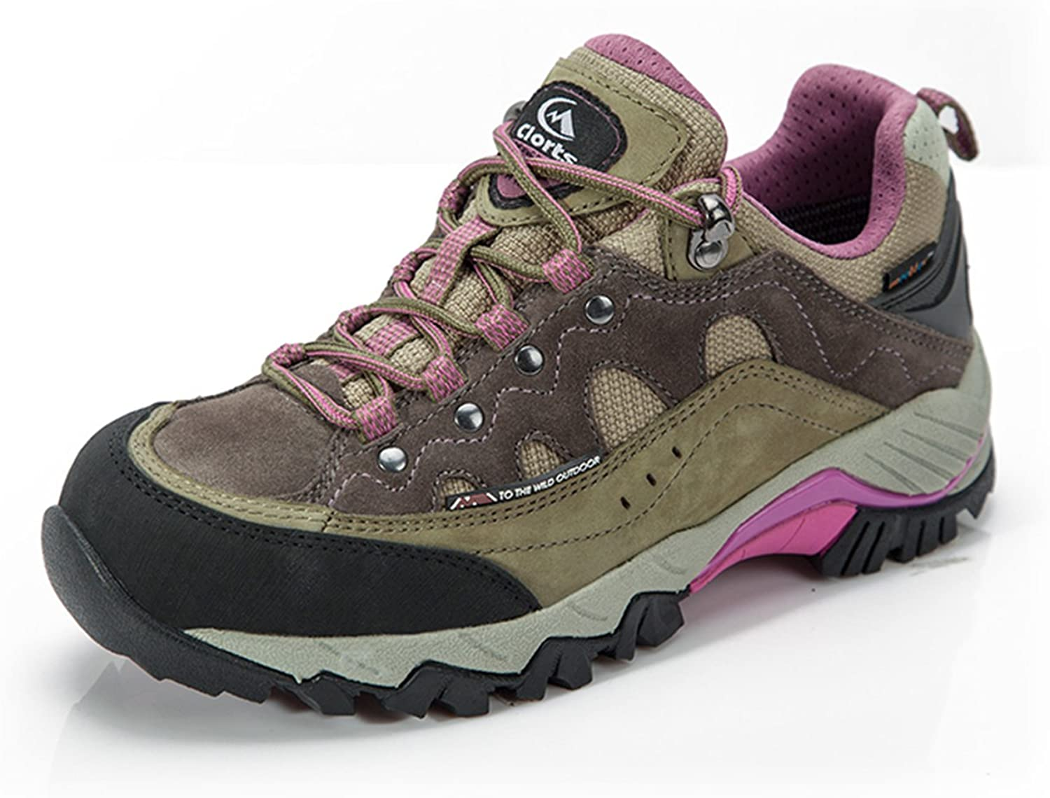 Qianling Collection Women's Outdoor Waterproof Suede Hiking shoes