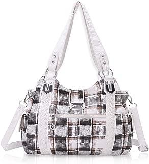 Roomy Fashion Hobo Womens Handbags Ladies Purse Satchel Shoulder Bags Tote Washed Leather Bag