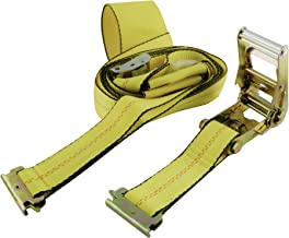 Erickson 08314 E-Track Adjustable Tire Basket Strap (with Cam Buckle and Ratchet, 3500 lb Load Capacity)