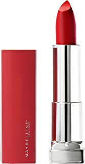 Maybelline New York Color Sensational Made for All Lipstick, Red For Me, Matte Red Lipstick