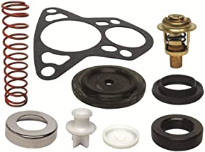 GLM Thermostat Kit for Johnson Evinrude 150, 175, 185, 200, 235 Hp V6 Crossflow 143° Replaces 18-3674