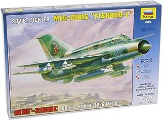 Zvezda Z7259 Mig-21 bis Lazur - Maqueta de avión de Combate (Escala 1:72)