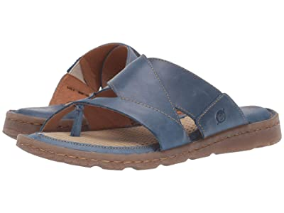 Born Sorja II (Blue Full Grain Leather) Women