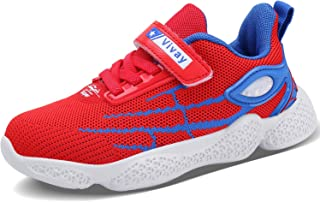 MAYZERO Kids Tennis Shoes Running Sports Shoes Breathable Athletic Shoes Lightweight Walking Shoes Fashion Sneakers for Boys and Girls