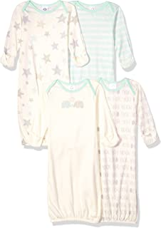 Gerber baby-girls 4 Pack Gowns Nightgown
