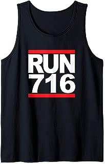 Run 716 Buffalo NY Vintage Running Tank Top