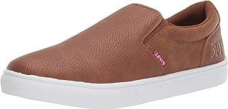 Mens Jeffrey 501 Slip-on Waxed Casual Sneaker