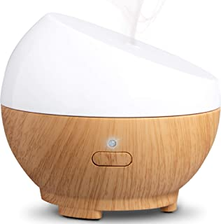 SHARPER IMAGE Essential Oil Portable Aromatherapy Diffuser, 1.7 Ounce Capacity