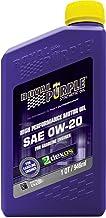 Royal Purple (06020-6PK) API-Licensed Heavy Duty SAE 0W-20 High Performance Synthetic..