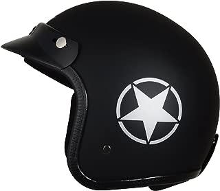 Autofy O2 Front Open Helmet (Black and Grey, M)