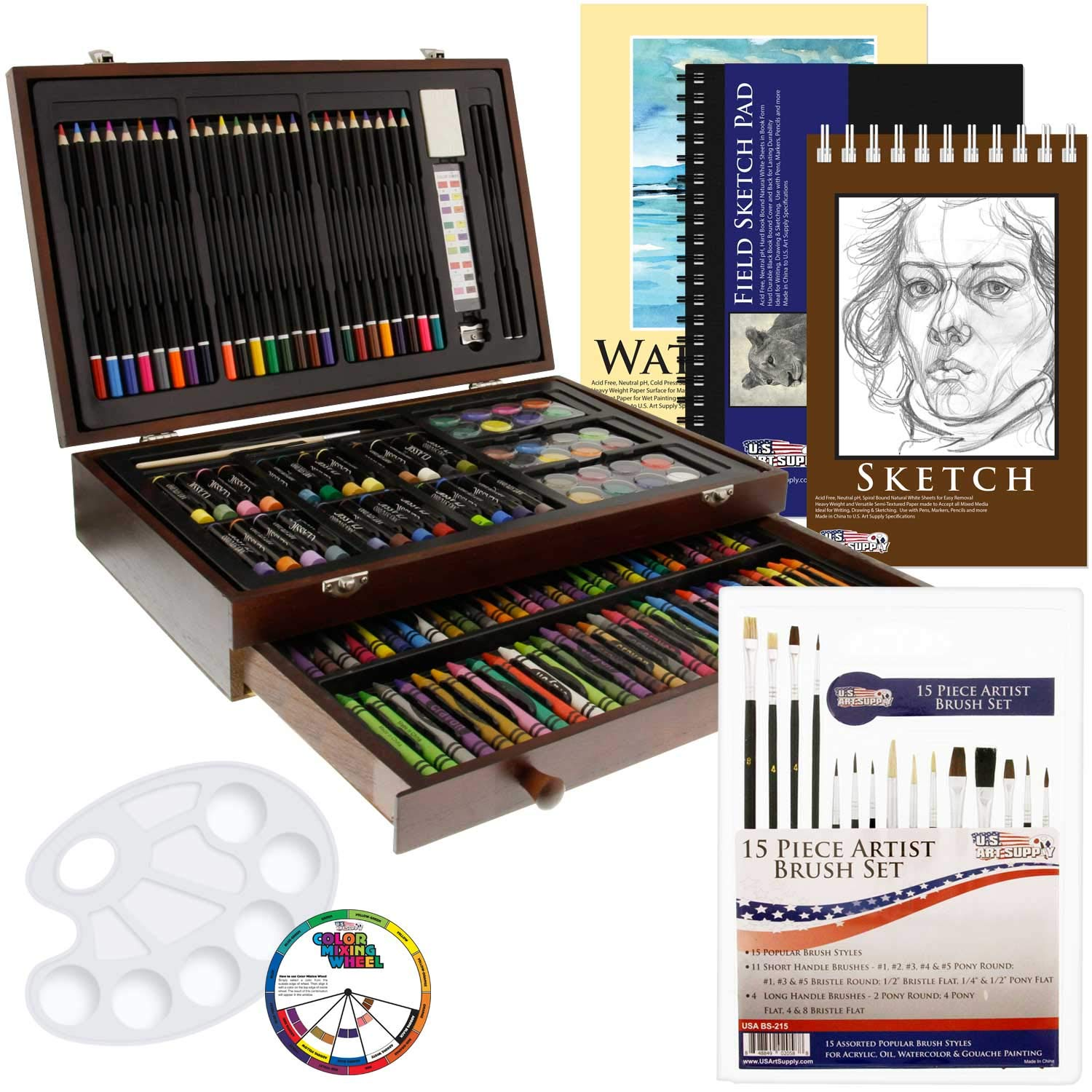 US Art Supply Piece Deluxe Additional