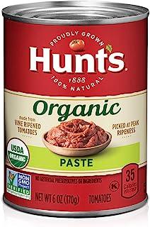 Hunt's Organic Tomato Paste, Keto Friendly, 6 oz, 24 Pack