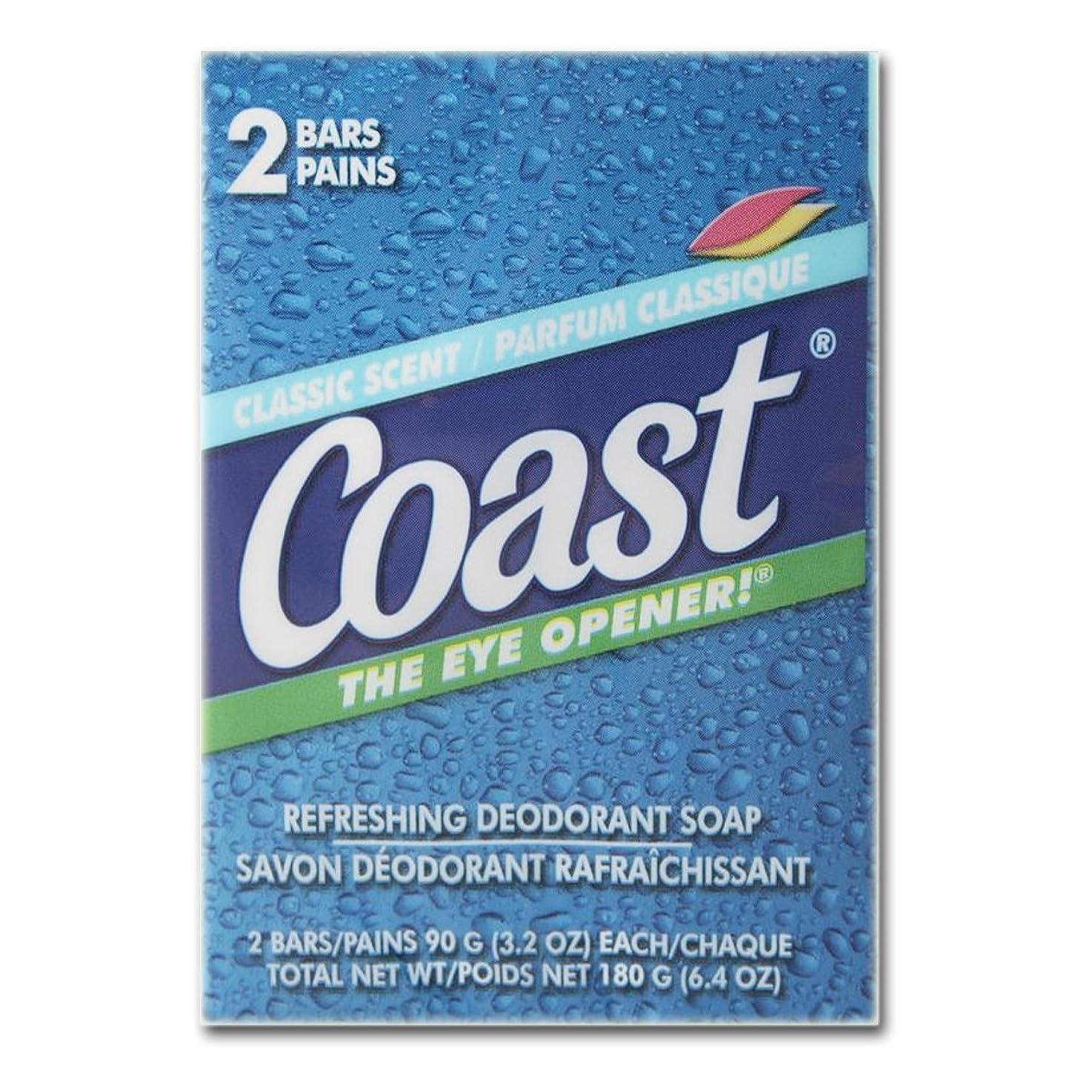 亜熱帯更新する告白コースト(Coast) 石けんパシフィックフォース2個入り×24パック(48個)