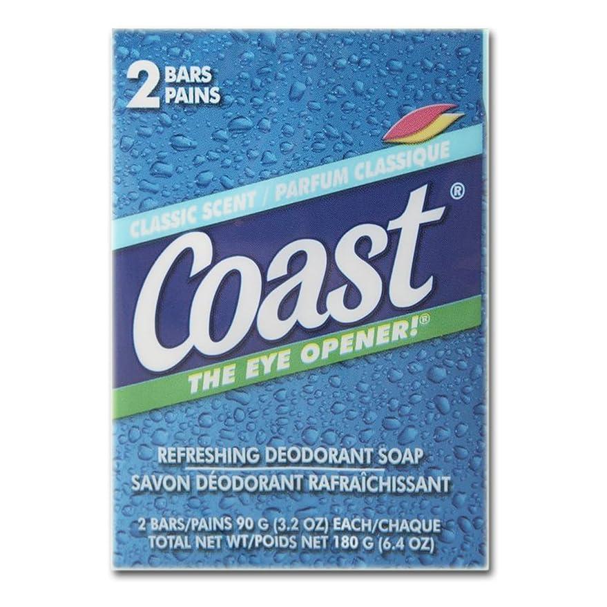 意識発表新聞コースト(Coast) 石けんパシフィックフォース2個入り×24パック(48個)