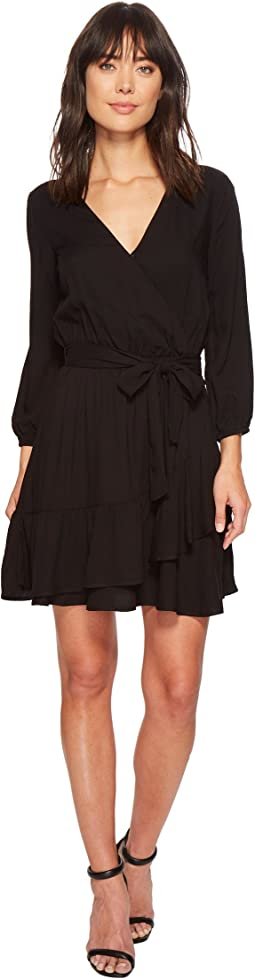 Splendid - Surplice Wrap Dress