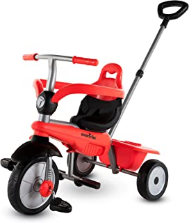 smarTrike Breeze Toddler Tricycle for 1,2,3 Year Olds - 3 in 1 Multi-Stage Trike, Red