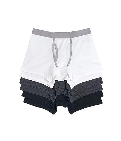 PACT Organic Cotton Boxer Brief 6-Pack (Basics) Men