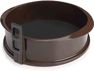 Lacor Molde Desmontable DE 25X7,5 CMS, Silicona, Marrón, 25
