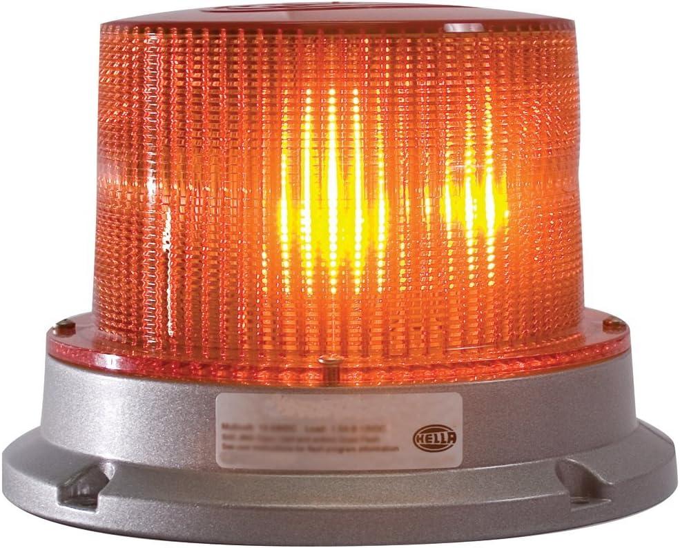 Strobe Patterns HELLA 008181101 KLX 7000 Fixed Mount Beacon Warning Light Amber 12V