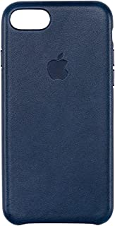 Apple Leather Case for iPhone 7 - Midnight Blue