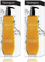 Neutrogena Rainbath Refreshing Shower and Bath Gel, 40 Oz Refill Bottles (Pack of 2)