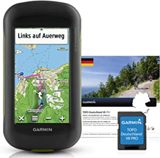Garmin Montana 610 + Topo Deutschland V8 Pro 户外导航设备 - 黑色,均码