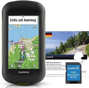 Garmin Montana 610 nbsp   Topo Germania V8 nbsp PRO Outdoor del Dispositivo Navigazione  Nero  One Size