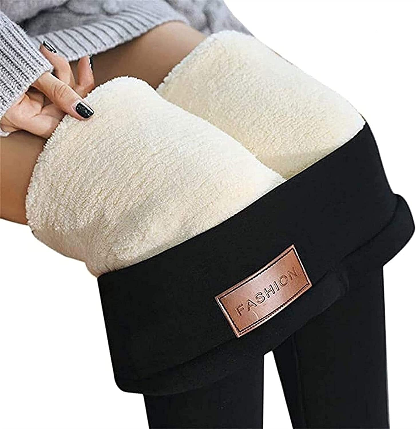 HSOSK Leggings Winter Warm Popular product Fleece Directly managed store Therm Women Lined for