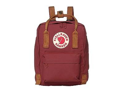 Fjallraven Kanken Mini (Ox Red/Goose Eye) Backpack Bags