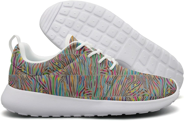 ERSER Multicolord Zebra Skin Retro Running shoes Women