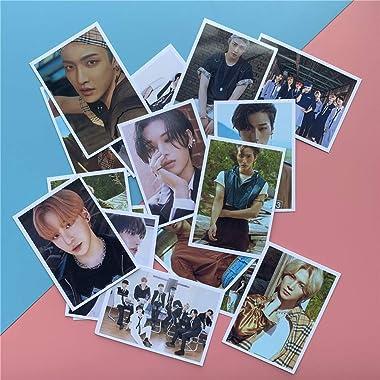 16 pièces / ensemble Kpop ATEEZ Photocard album ZERO: FEVER carte Photo album THANXX K pop ATEEZ