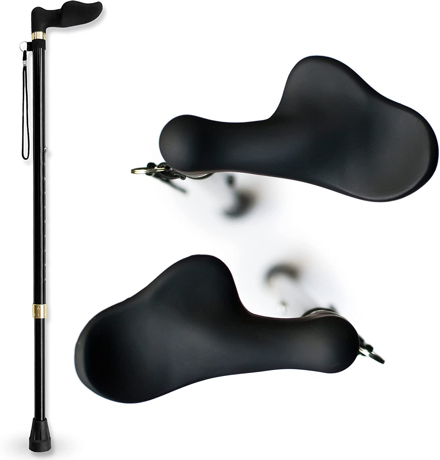 Challenge the lowest price of Japan ☆ RMS Right Hand Walking Cane with - Orthopedic A Fort Worth Mall Handle Grip Palm