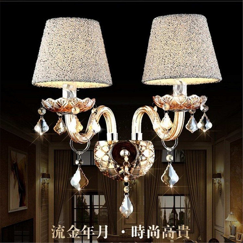 StiefelU LED Wandleuchte nach oben und unten Wandleuchten Crystal LED Wandleuchte Schlafzimmer Nachttischlampe hotel Wohnzimmer treppen Kerze Wandleuchte