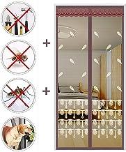 Magnetische vliegendeur, glasvezel deur gaas scherm met magneet, eenvoudig te installeren zelfsluitende zware mesh gordijn...