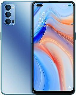 HJFGIRL Reno4 5 g SIM Free Moible Phone, smartfon z 6,4-calowym kroplami wody, telefon komórkowy z systemem Android 10, 8 ...