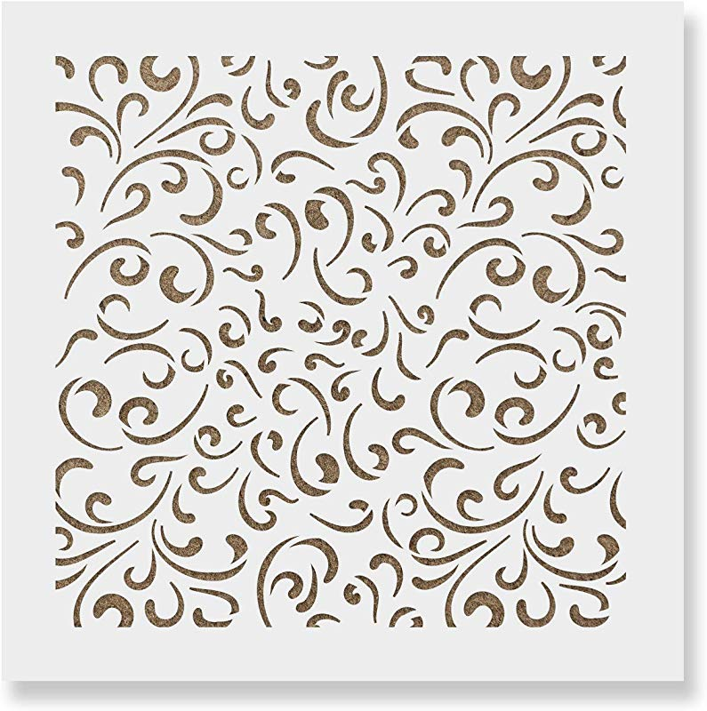 Fancy Pattern Cookie Stencil Template Reusable Durable Food Safe Stencils For Cookies And Baking