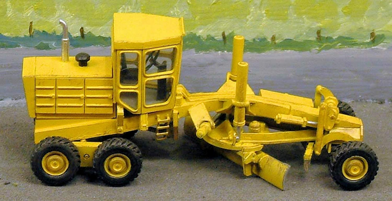 Langley Models Motor-Grader auf Katze OO basiert skalieren UNLACKIERT MetallModellbausatz RW12