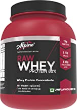 Alpino Raw Whey Protein 80% - 1kg / 2.2lbs Unflavoured
