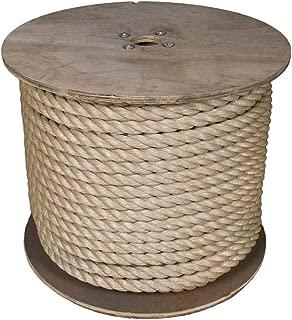 3 Strand Twisted ProManila Polypropylene Rope (1 1/2 Inch x 50 Feet)